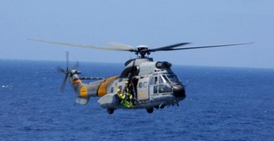 Un helicóptero del SAR en una imagen de archivo. (Ejército del Aire)
