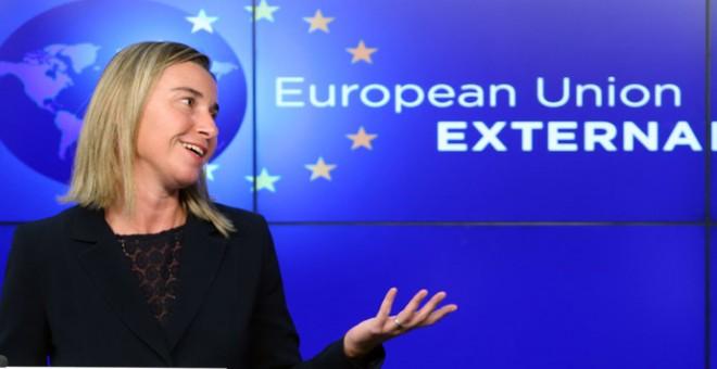 La alta representante de la Unión para Asuntos Exteriores y Política de Seguridad, Federica Mogherini./ REUTERS