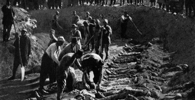 Vïctimas armenias del genocidio. WIKIPEDIA