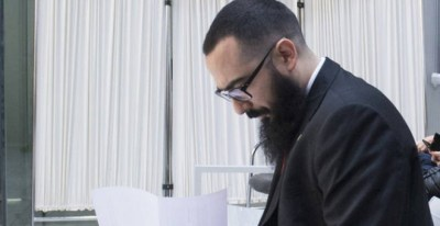 Arkaitz Terrón Vives, para quien el fiscal pide dos años de cárcel por un delito de enaltecimiento del terrorismo. EFE