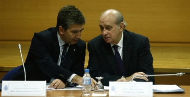 Jorge Fernández Díaz e Ignacio Cosidó /EUROPA PRESS