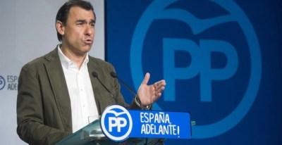 Fotografía facilitada por el PP de su vicesecretario general, Fernando Martínez-Maillo.- EFE