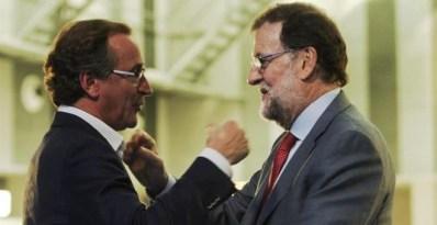 """El exministro Alfonso Alonso prevé en Euskadi """"el mismo desafío"""" y """"el mismo peligro"""" que en Catalunya."""
