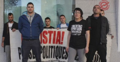 Miembros del colectivo musical La Insurgencia.