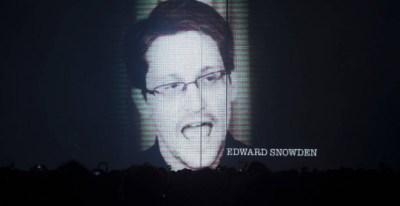 Edward Snowden, ex analista de la NSA y autor de las filtraciones sobre la vigilancia masiva que esta agencia de seguridad estadounidense, en el Sónar de Barcelona. EFE