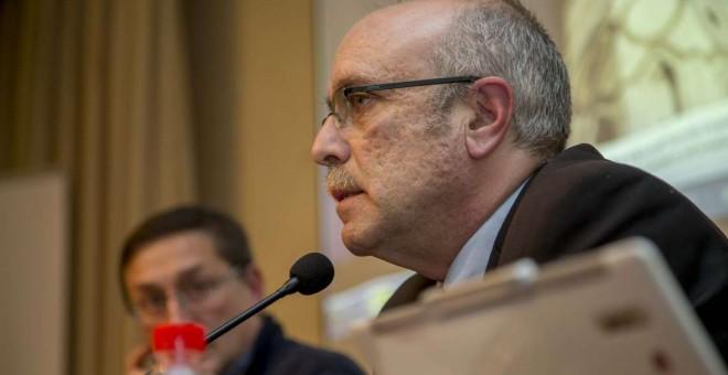 """Pablo Sapag, autor de la obra """"Siria en perspectiva""""."""
