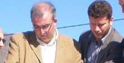 El alcalde de Estepona David Veládez y el gerente y administrador de una sociedad de Villarejo, Diego de Lucas.