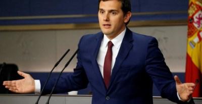 El líder de Ciudadanos, Albert Rivera, en una imagen de archivo. REUTERS