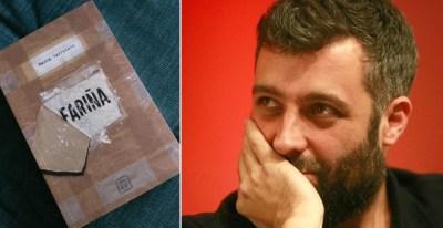 Nacho Carretero y su libro secuestrado, 'Fariña'. / EFE