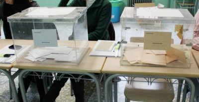 Fotografía de archivo de unas urnas. - EUROPA PRESS