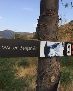 Señalización de la ruta en el lado catalán