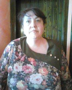 Pilar Parrado subsiste con una ayuda social del Gobierno de Aragón.