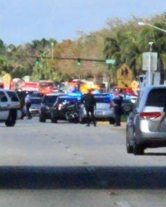 Un tiroteo en un colegio del sur de Florida deja numerosas víctimas. REUTERS