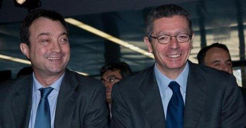 Gallardón y Cobo.  EUROPA PRESS