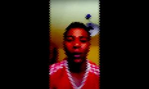 El joven relatando las agresiones que sufrió por parte de agentes de los Mossos | Youtube