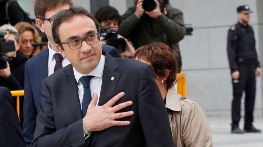 Resultado de imagen para Josep Rull del Govern autonómico de Cataluña