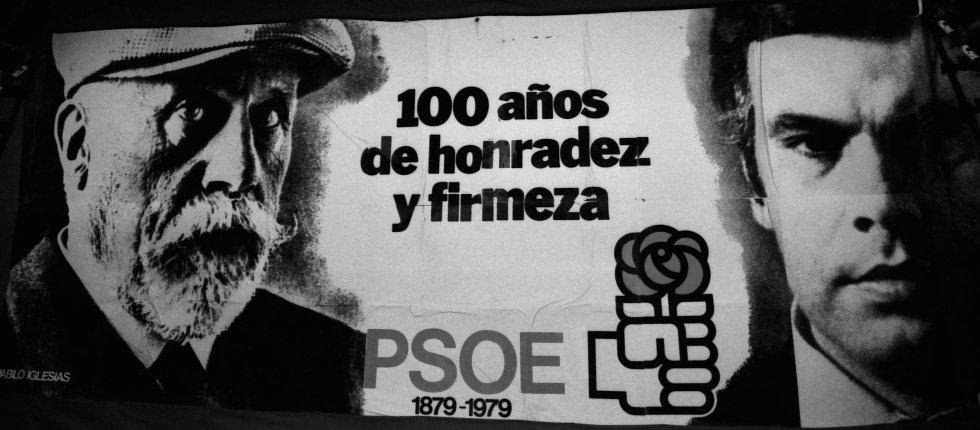 Resultado de imagen de cartel psoe 1982