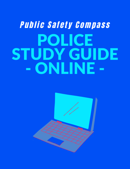 Police Study Guide Cover