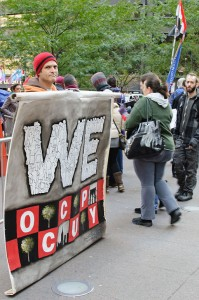 The Occupy Wall Street protest, September 2011 at Zuccotti Park in Lower Manhattan. © InSapphoWeTrust | Flickr