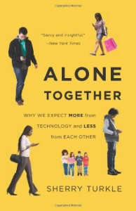 Book cover of Alone Together by Sherry Turkle © Basic Books | Amazon.com