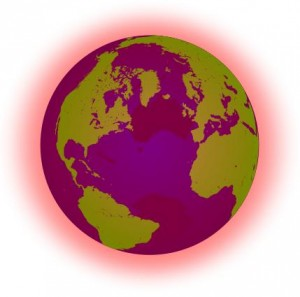 Global warming icon © Jackl   Wikimedia Commons