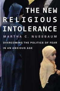 Book cover of The New Religious Intolerance by Martha C. Nussbaum © Harvard University Press   Amazon.com