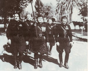 Pre-Peronist fascist march, 1930 © Ricardo Soler | Wikimedia Commons