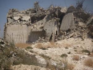 A Palestinian home after demolition by Israeli military forces © 2006 joeskillet | Flickr