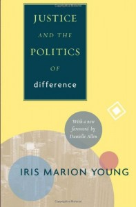 Book cover of Justice and the Politics of Difference by Iris Marion Young © Princeton University Press | Amazon