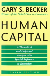 Book cover of Human Capital by Gary Becker © University of Chicago Press | Amazon