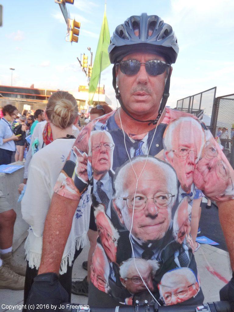 Bernie T-shirt © Jo Freeman | 2016
