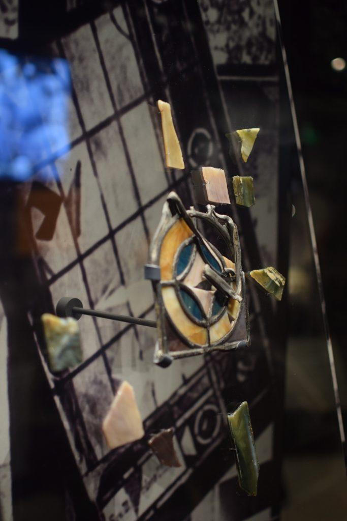Fragments of Glass from The Baptist Church Bombing © Lauren Burke