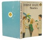 American Girl Book of First Date Stories Secret Hollow Book Safe