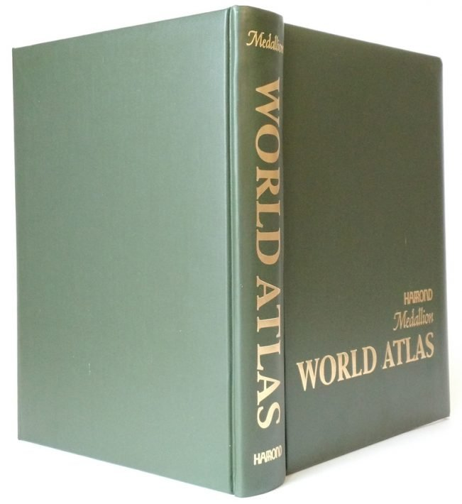 Hammond World Atlas with Deck of Trivia Cards