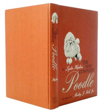 The New Complete Poodle Secret Hollow Book Safe