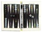 Nancy Drew Mystery at the Ski Jump Hollow Book Bookgammon Backgammon Set