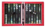 Our World In Time and Space Hollow Book with Bookgammon (backgammon) set