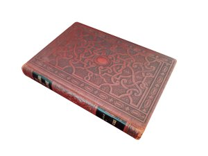 outside three quarter view of The Wonderland of Knowldedge Volume 6 Fortune Teller/Keeper Hollow Book Safe ouija board
