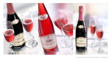 Fotografía de bodegón, botellas de vino