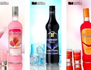 Strawberry, licor de fresa, vodka y licor de caramelo