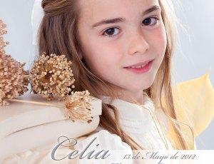 Comunión de Celia