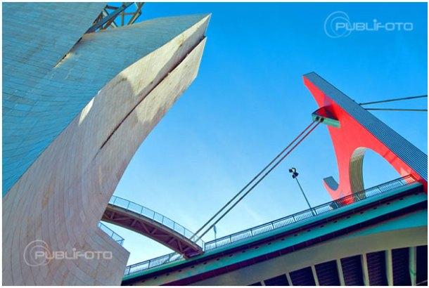 Puente La Salve - Fotografía realizada durante el curso de fotografía en Bilbao