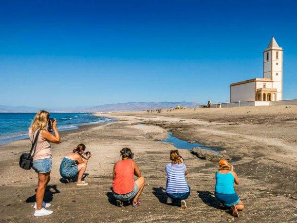 Ejercicios prácticos curso de fotografía en Almería