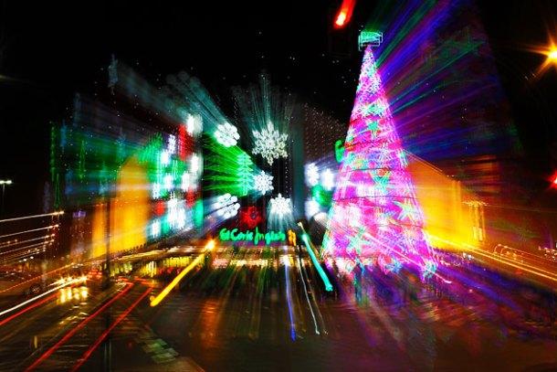 Foto creativa - Luces de navidad