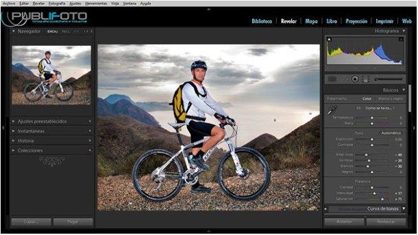 Curso fotografía Photoshop Lightroom