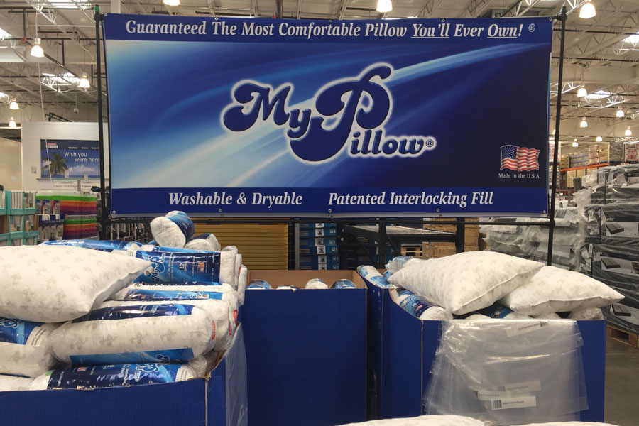 my pillow products dropped by multiple