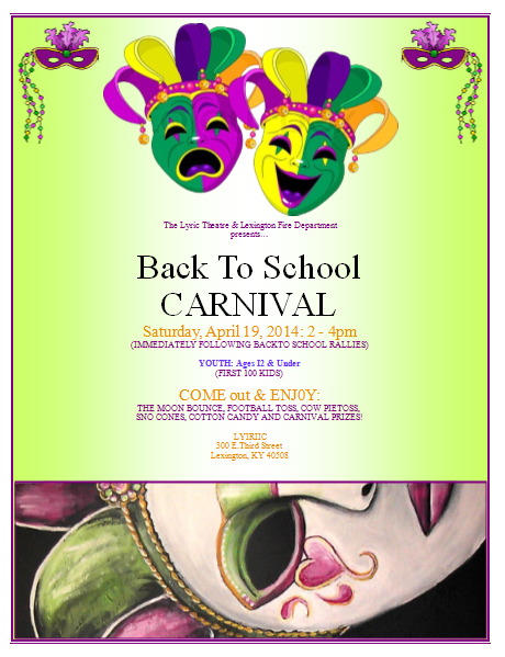 Carnival Flyer Template Publisher Flyer Templates