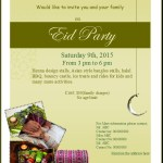 Eid Party Flyer Template