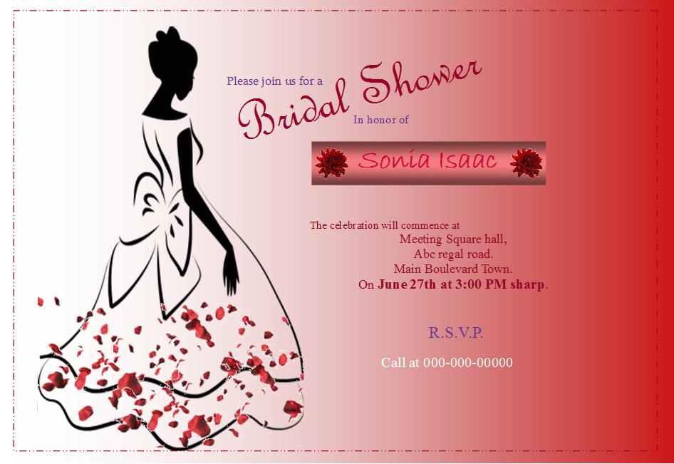 Bridal Shower Flyer Template Publisher Flyer Templates - Bridal shower flyer template