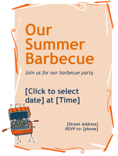 flyers-templates.org Chicken-Barbeque-Flyer
